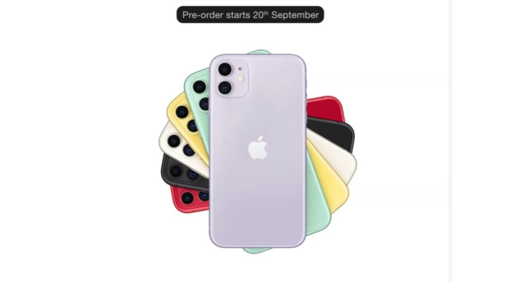 iPhone 11 series to be put on Pre-Orders via Amazon and Flipkart