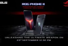 Asus ROG Phone 2 gaming-centric smartphone set to launch today in India