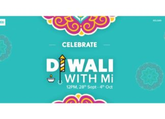 Xiaomi launched Diwali with Mi sale will kick off from September 28 to October 4
