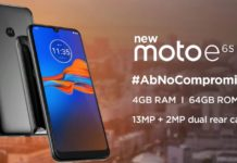 Motorola to launch Moto E6S with dual rear cameras con September 16