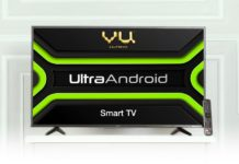 Vu Televisions announced the launch of Ultra Android TV range on Amazon