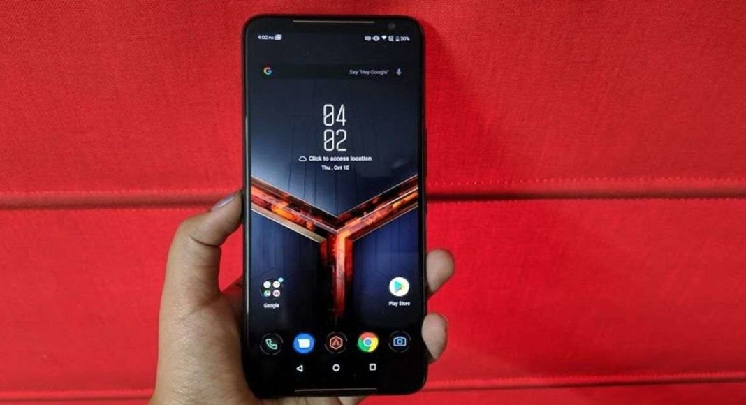 Asus started rolling out Android 10 OS for ROG Phone 2 smartphone