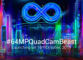 Redmi Note 8 Pro with a 64-megapixel camera to launch in India on October 16