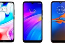 Compare: Redmi 8 VS Redmi 7 VS Motorola E6S