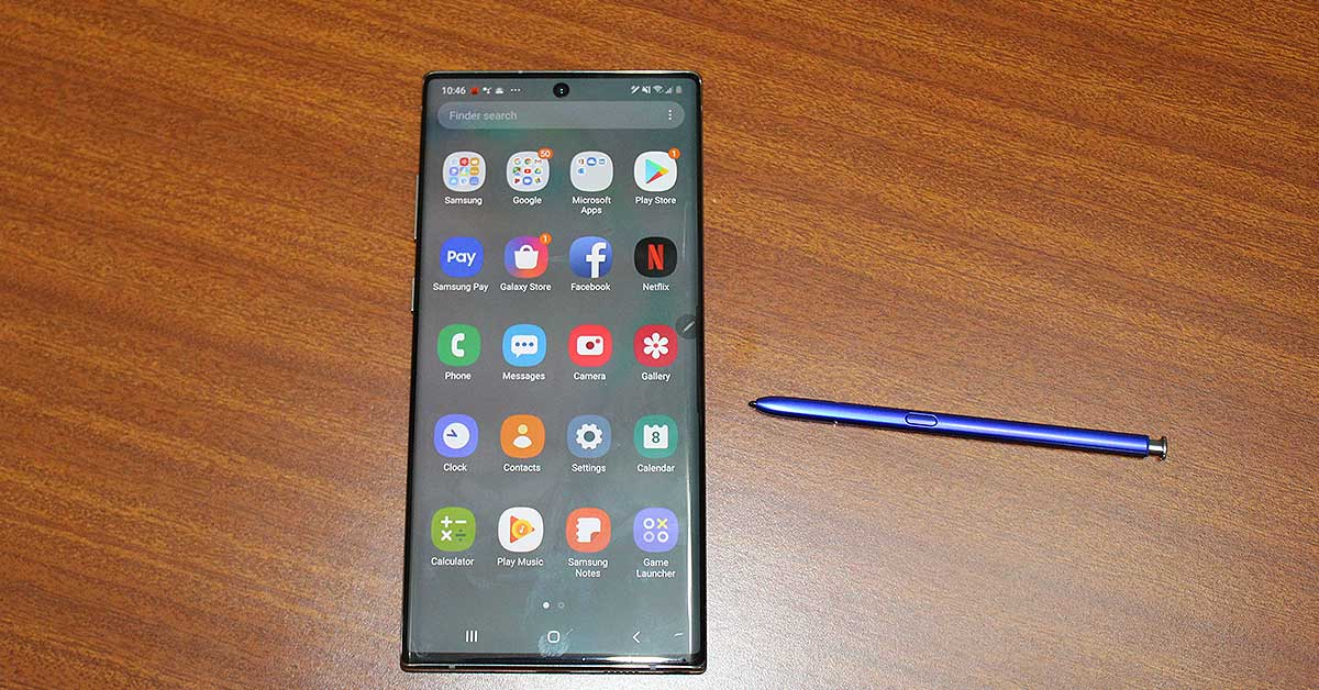 Samsung Galaxy Note 10 Plus spen