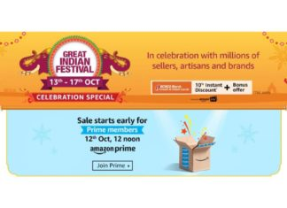 Amazon Great India Festival Celebration Sale