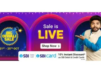 Flipkart Big Diwali Sale is back: Deals, offers and more