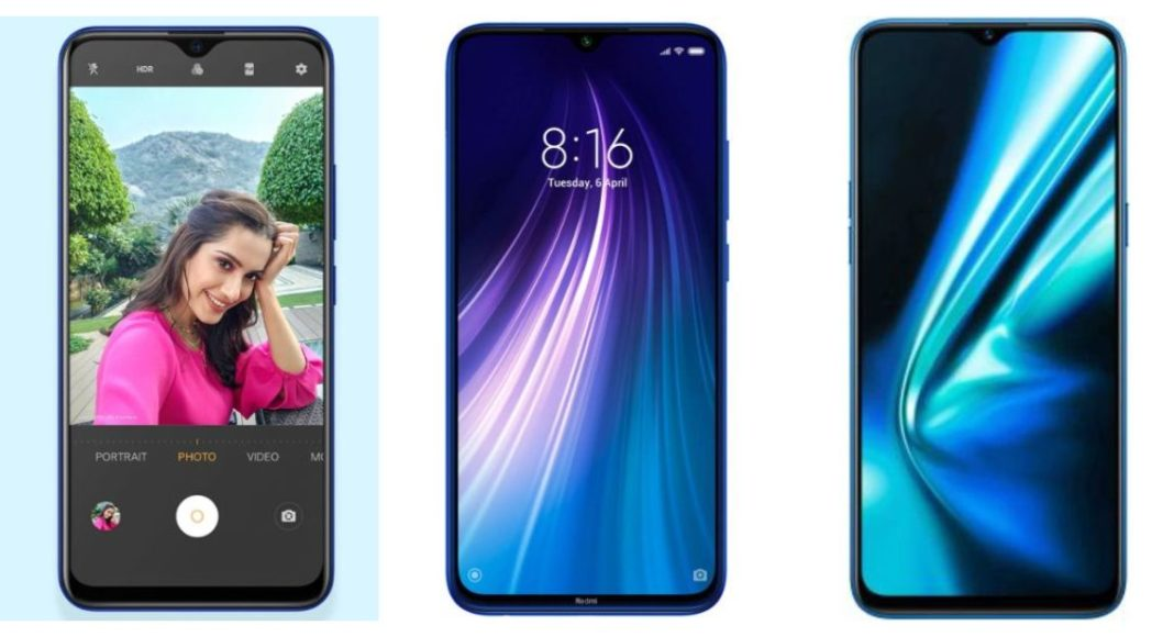 Compare: Vivo U20 Vs Redmi Note 8 Vs Realme 5s