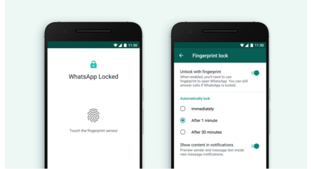 WhatsApp introduces Fingerprint Lock for Android
