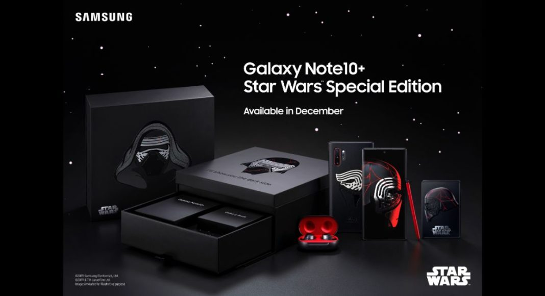 Samsung announces Galaxy Note 10+ Star Wars special edition