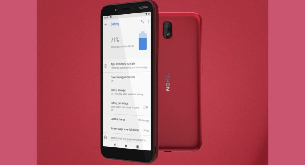 HMD Global launched Nokia C1 with Android 9 Pie (Go edition)