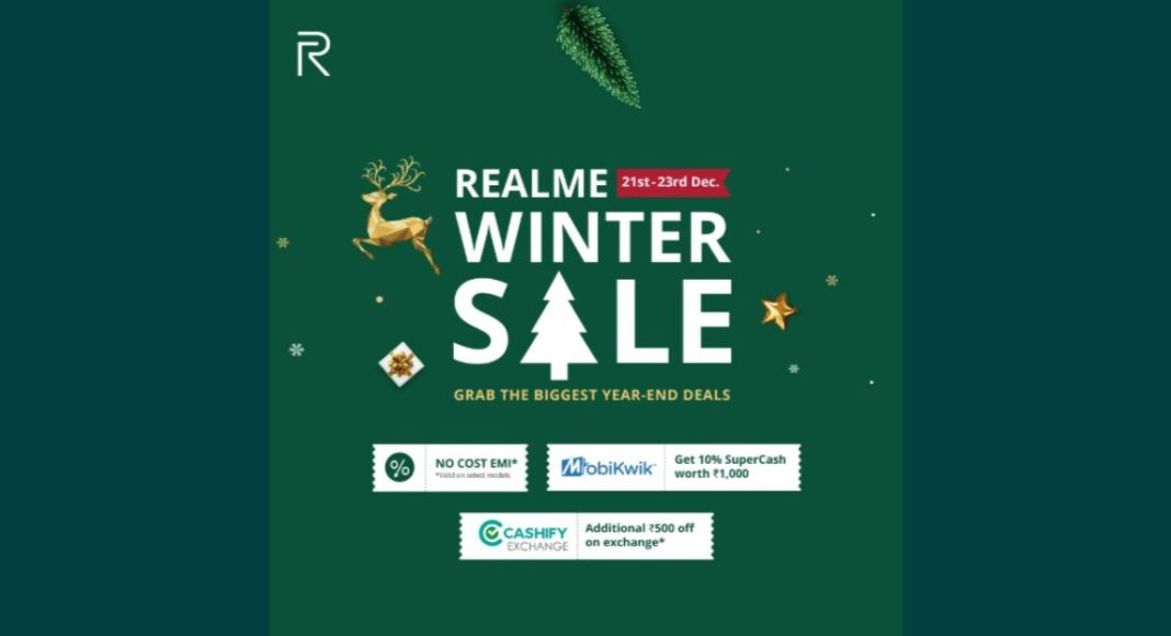 Realme Winter sale is now live: Discount and other details