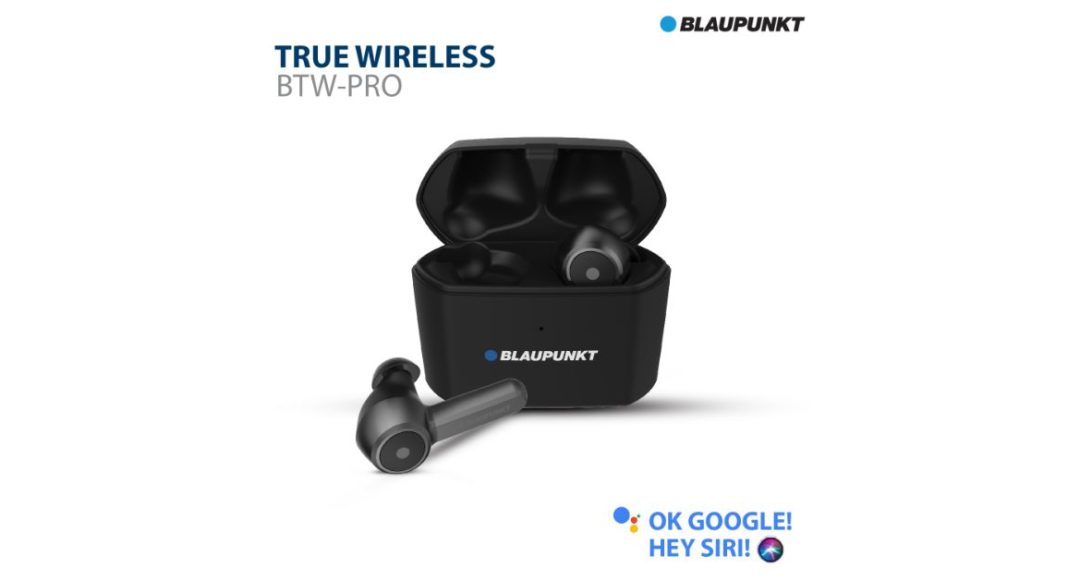 Blaupunkt launched wireless earbuds BTW Pro in India