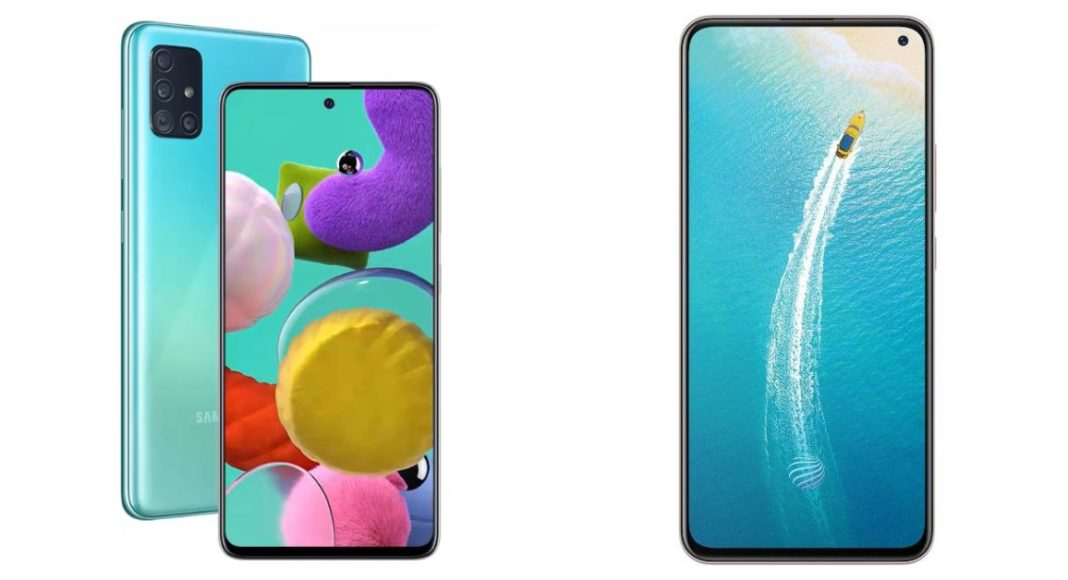 Compare: Samsung Galaxy A51 Vs Vivo V17
