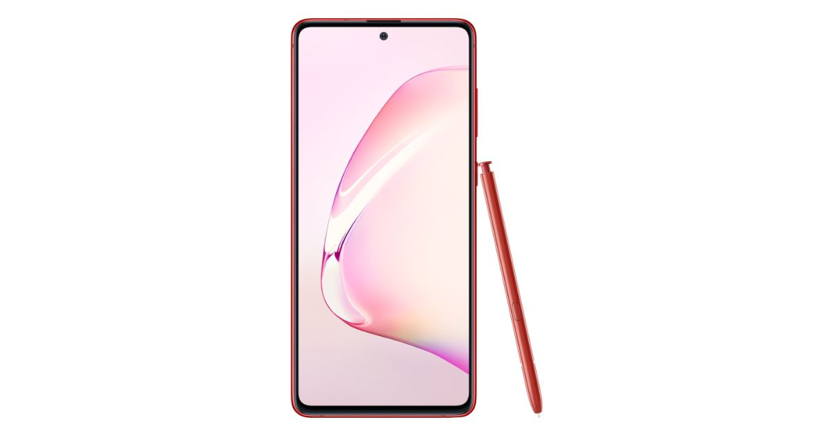 Samsung Galaxy Note 10 Lite launched in India with S Pen stylus