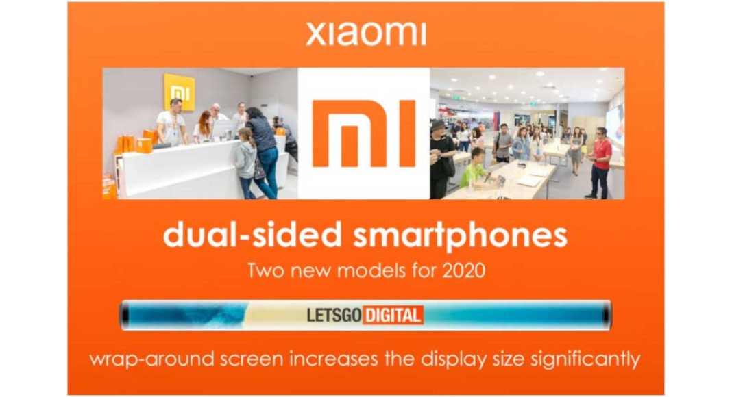 Xiaomi double sided phones