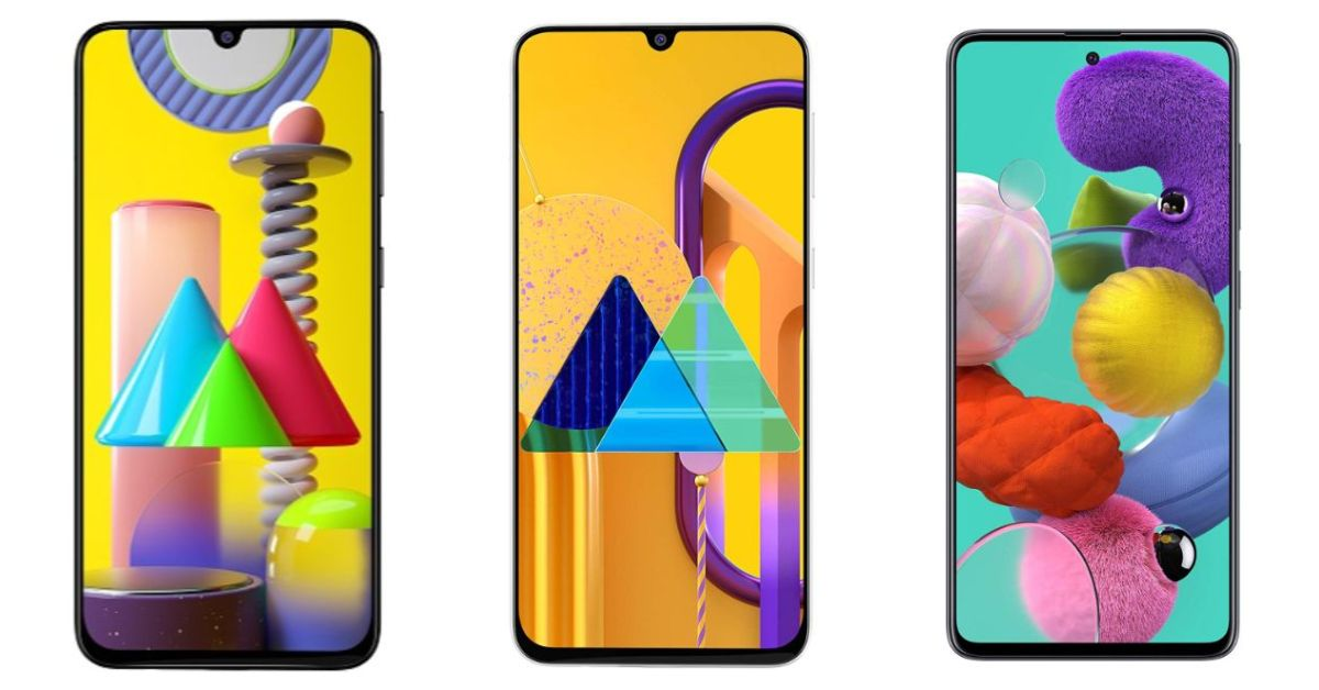 Comparison: Samsung Galaxy M31 VS Samsung Galaxy M30s VS Samsung Galaxy A51
