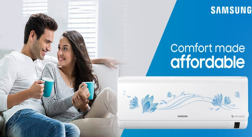 Samsung launched a new series of Convertible Inverter Air Conditioners