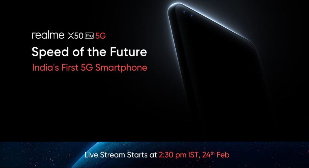 Realme X50 Pro 5G with Snapdragon 865 chipset going to launch in India today: How to watch the live stream