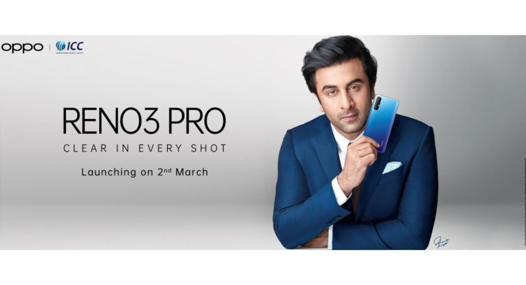 Oppo Reno 3 Pro with a dual hole-punch display to arrive in India soon
