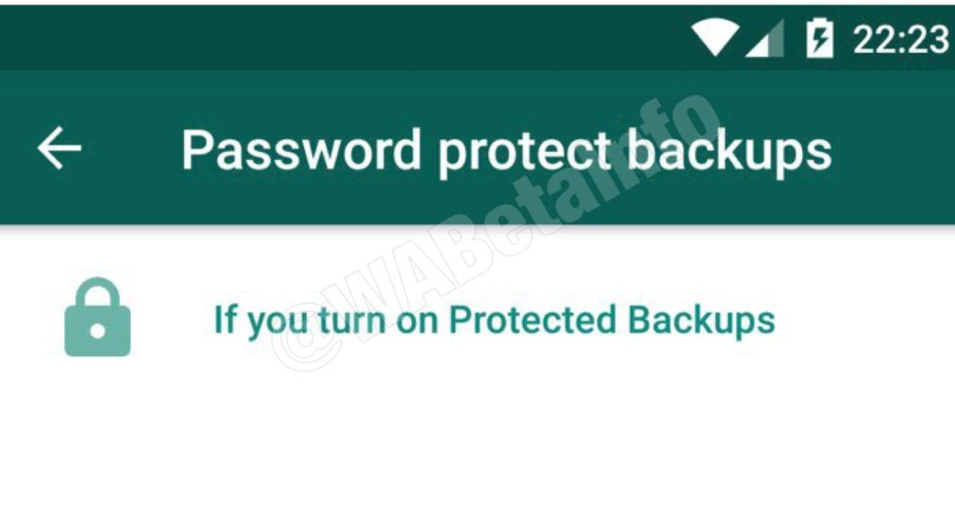 WhatsApp update: Soon WhatsApp will allow users to encrypt their Google Drive backups with a password