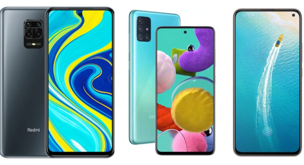 Comparison: Xiaomi Redmi Note 9 Pro Vs Samsung Galaxy A51 Vs Vivo V17