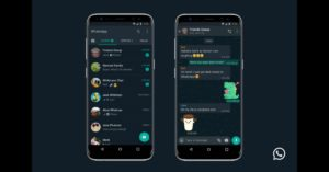 WhatsApp Dark mode released