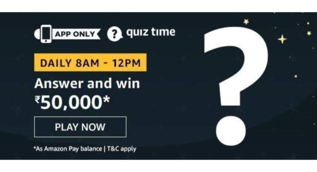 March 23 Amazon Quiz- Answer these five questions and you could win Rs 50,000 Amazon Pay balance