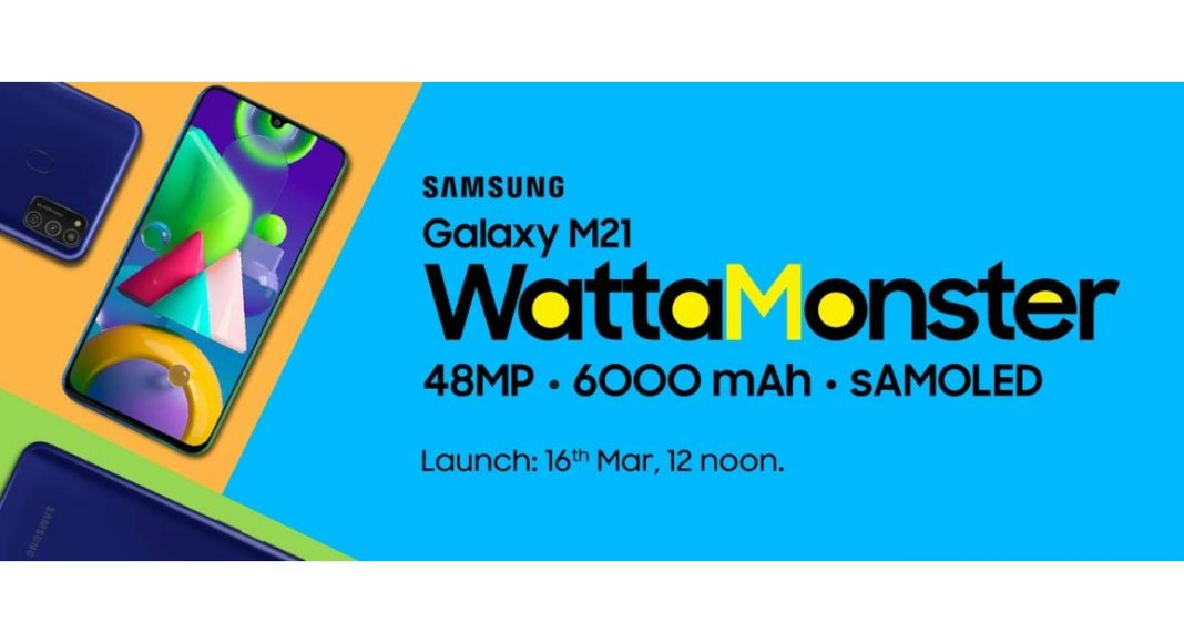 Samsung to launch Galaxy M21 with a 48-megapixel camera on March 16 in India