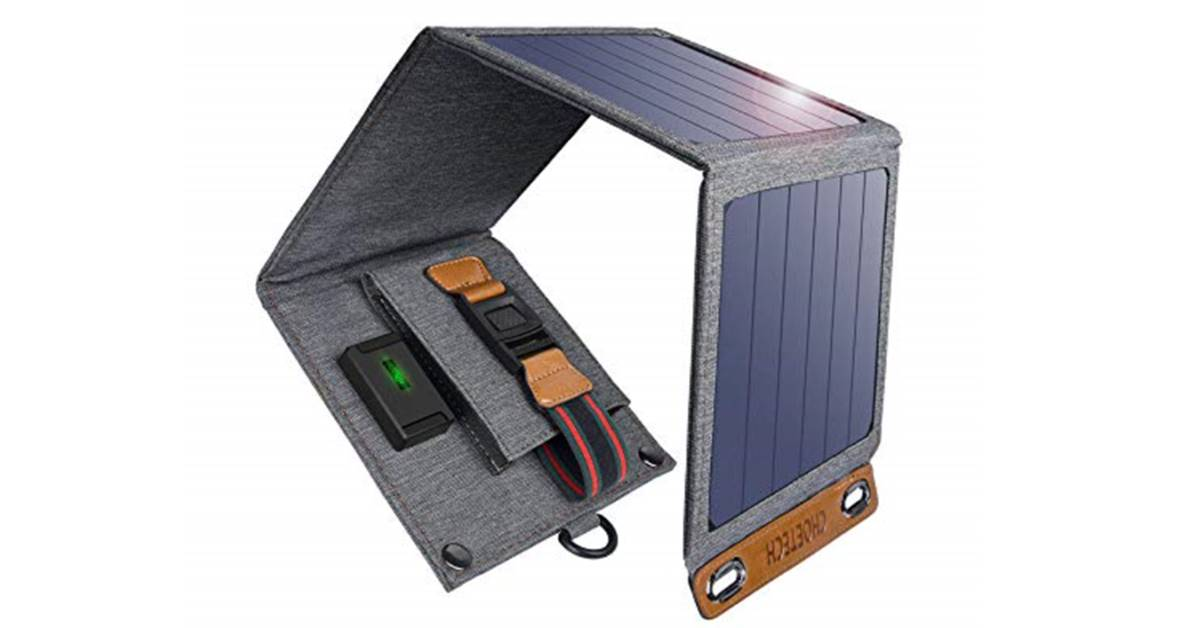 CHOETECH waterproof solar charger