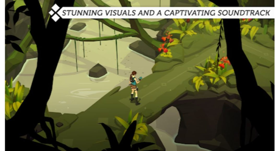 Lara Croft GO now available for free to download via Play Store as well as Play Store
