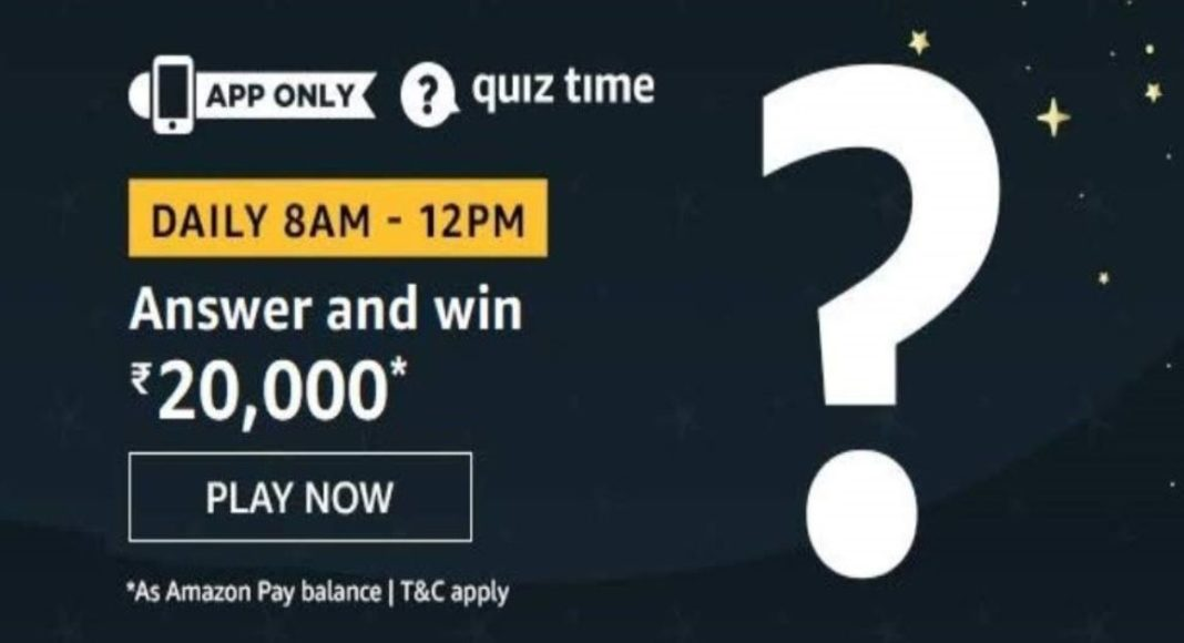November 21 Amazon Quiz: Answer these five questions and you could win Rs 20,000 Amazon Pay Balance