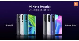 Xiaomi to launch three new devices in India tomorrow, namely Mi Note 10, Mi Note 10 Lite and Redmi Note 9