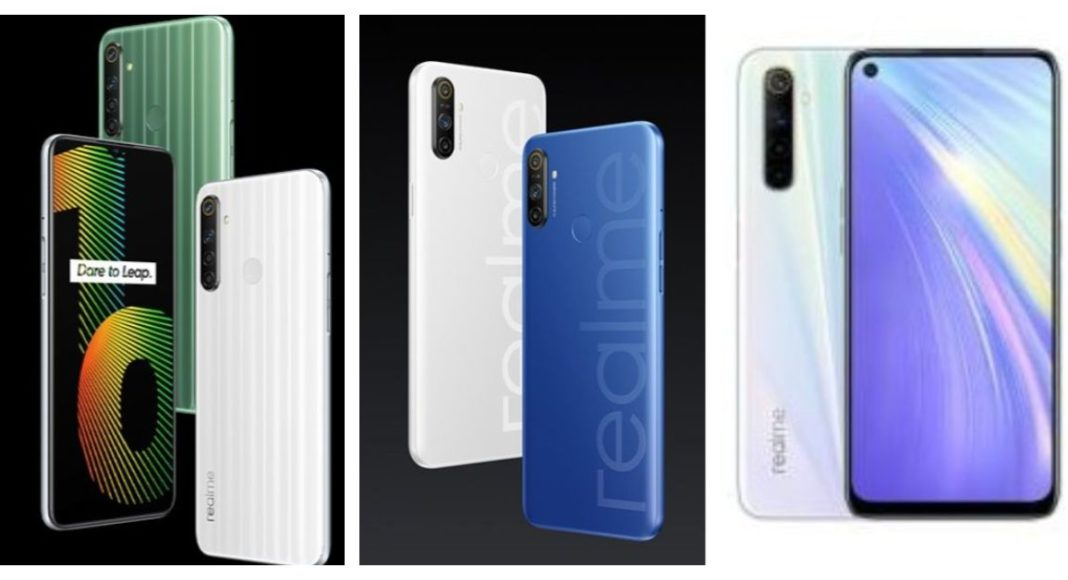 Comparison: Realme Narzo 10 Vs Narzo 10A Vs Realme 6