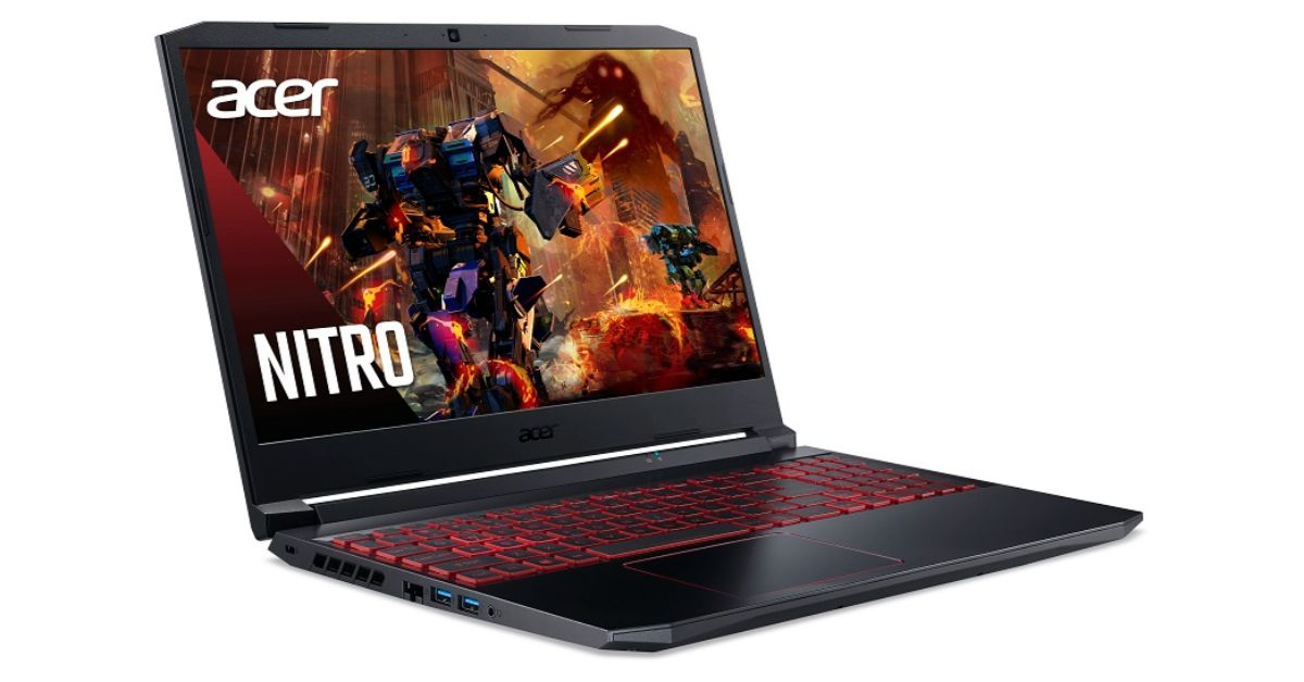 Acer Nitro 5 gaming laptop with 10th generation Intel Core i7 H-series mobile processors and 144Hz refresh rate display  launched in India