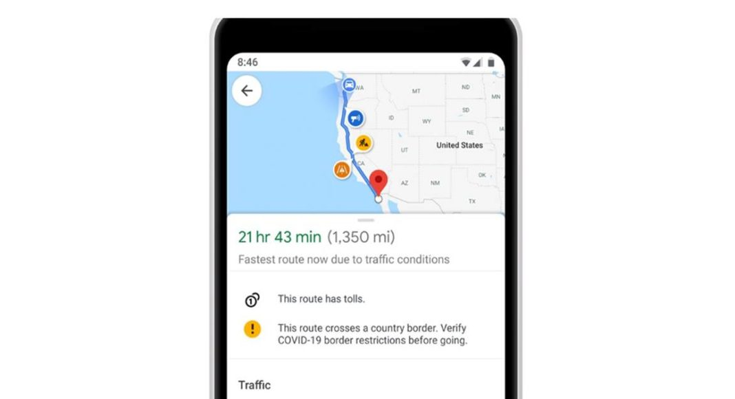 Google Maps rolls out new features to help you navigate safely during covid-19