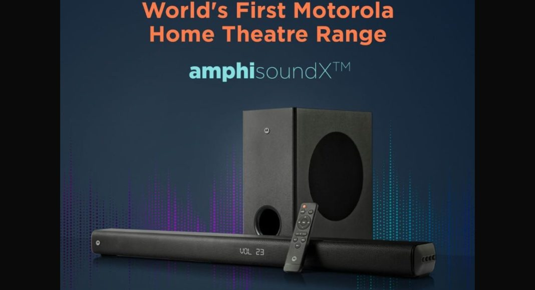 Motorola to introduce its first AmphisoundX home theatre range on June 23 in India