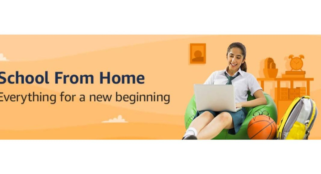 Amazon School From Home store launched in India