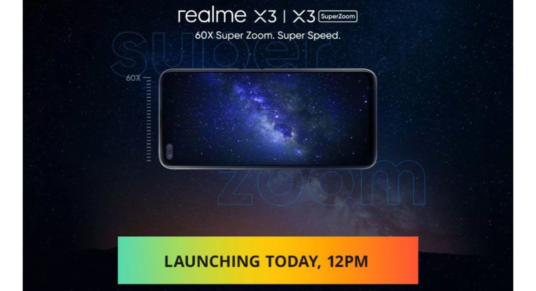 Realme X3 series of smartphones and Realme Buds Q to launch in India today
