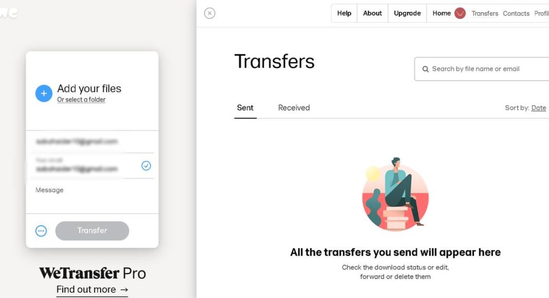 WeTransfer blocked in India Google Drive
