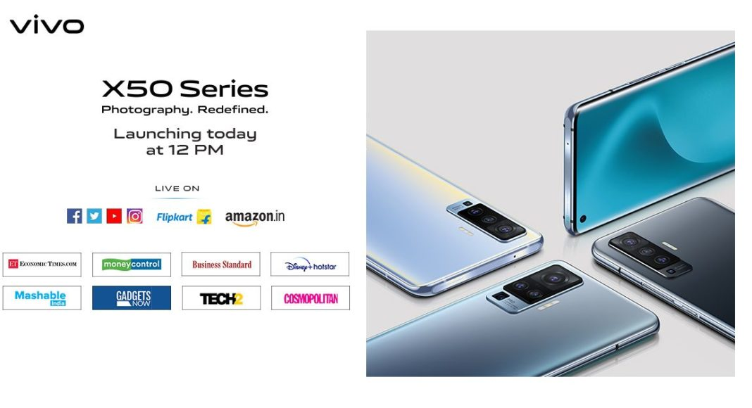 Vivo X50 series to launch in India today: How to watch the launch event live