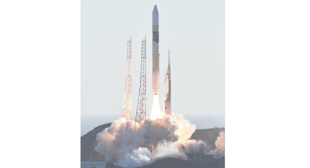 Emirates Mars Mission UAE Hope Probe lifts off from Japan