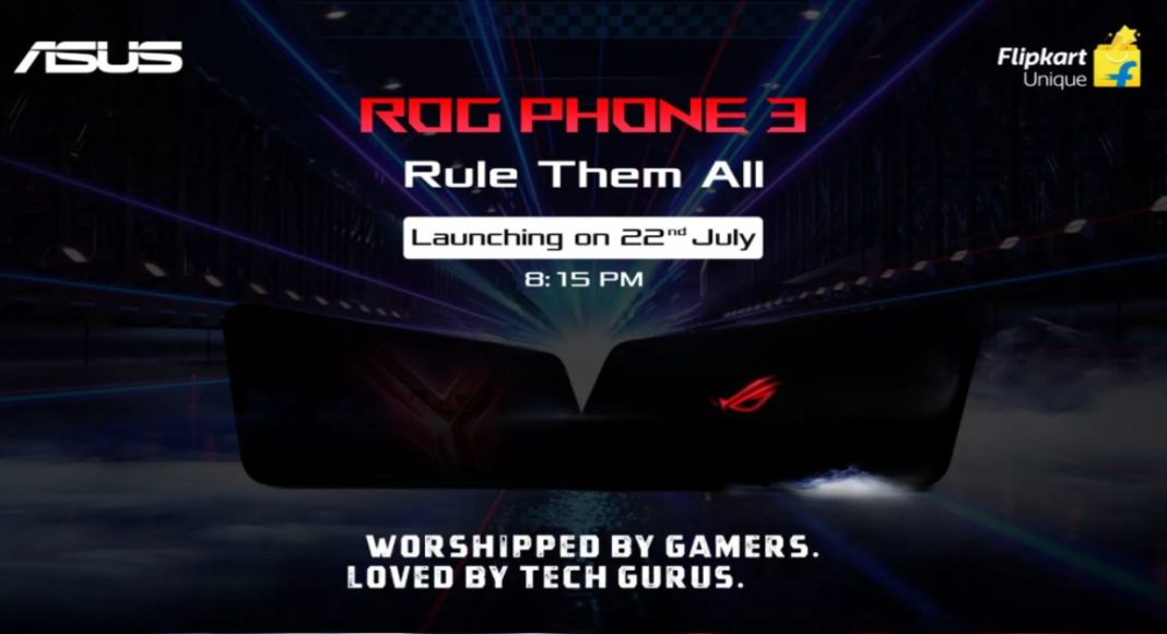 Asus ROG Phone 3 with Qualcomm Snapdragon 865+ SoC to launch in India on July 22
