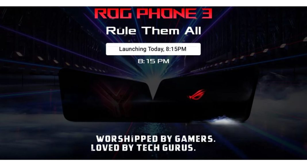 Asus ROG Phone 3 with Qualcomm Snapdragon 865+ SoC set to launch in India today