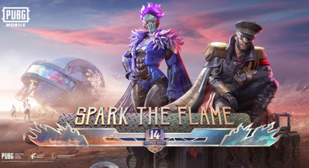 PUBG Mobile Royal Pass Season 14 - Spark the Flame begins: Check out all the cool features