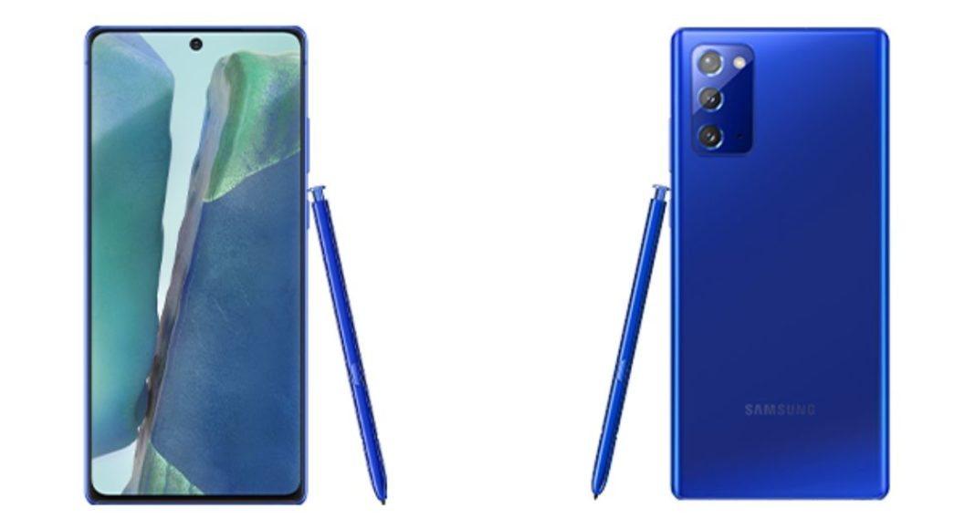 Samsung Galaxy Note 20 Mystic Blue colour variant now available in India