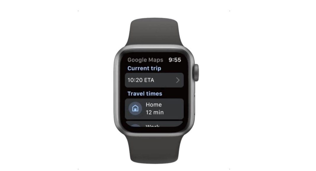 Google Maps now compatible with Apple Watch and CarPlay dashboard