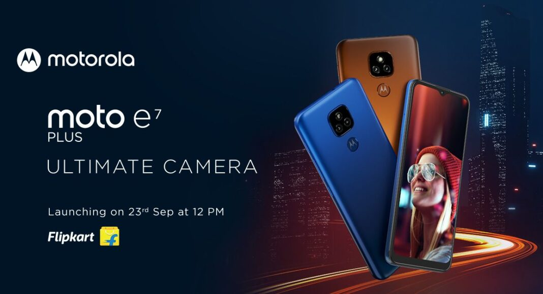 Moto E7 Plus launching in India today