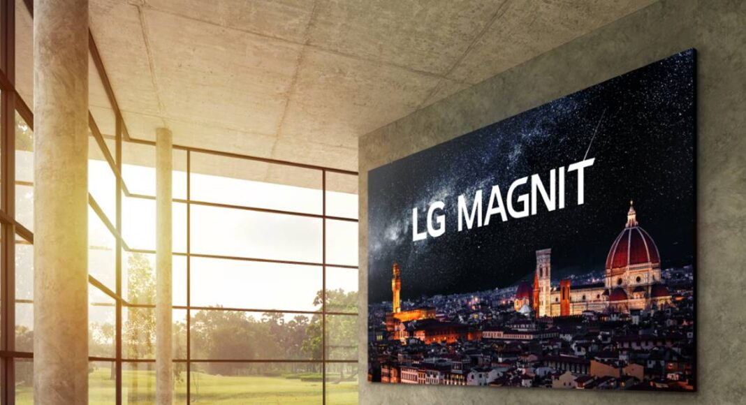 LG MAGNIT A new Micro LED signage solution with enhanced picture quality