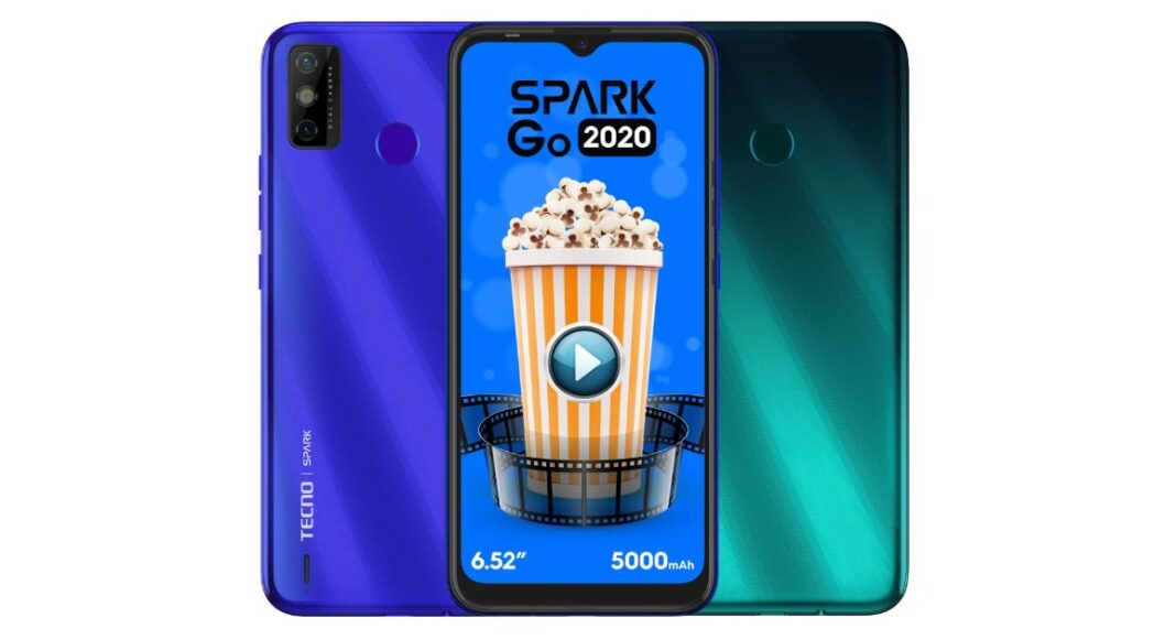 Tecno Spark Go 2020 with 5,000mAh battery launched in India